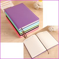 Wholesale A5 Classic Notebook Business Notepad Memo Diary Paper Notebook PU Leather Shell sheets Color