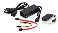 ata hard drive to usb - New USB to IDE SATA S ATA Mb s HD HDD Hard Drive Adapter Converter Cable set