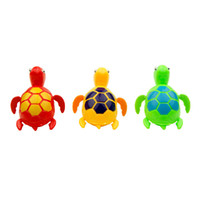 Wholesale Hot sall New Wind up Swimming Funny Turtle Turtles Pool Animal Toys For Baby Kids Bath Time wd001