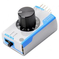 adjuster motor - ESC Servo Tester Servo Tester Adjuster testing easy to manual and automatic zeroing third gear for RC Helicopter Quadcopters