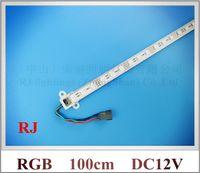Wholesale SMD RGB LED rigid strip light RGB LED light bar LED counter light cabinet light lamp led cm DC12V