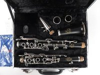 Wholesale Amati ACL356S G Clarinet Grenadilla Wood with Silver Keys and Case