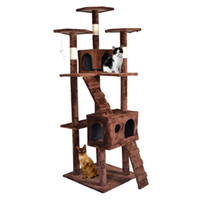 Wholesale New quot Cat Tree Scratcher Play House Condo Furniture Toy Bed Post Pet House