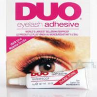 Wholesale 2pcs DUO WATER PROOF FALSE EYELASH ADHESIVE EYELASH GLUE glue spray glue nylon glue nylon