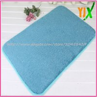 bamboo area mat - inexpensive area soft bath mats with memory foam