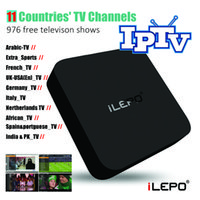 arab media - Arab IPTV TV Box With Free D VR Box RK3229 Android MXQ K TV Box thousands of Live Channels For countries Media Player