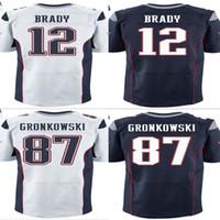 sports jerseys - Tom Brady jersey Rob Gronkowski Jerseys Football Jersey Sport Jerseys Embroidery Logos