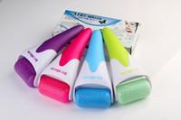 Wholesale Ice Roller Skin Massager for Face Body Massager Facial Skin Preventing Wrinkles Skin Cool Derma Roller Plastic Head