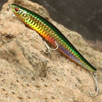 best artificial lure - Best Quality mm g Floating Minnow Fishing Lures Hard Baits VMC Hooks Thin Long Artificial Bait for Topwater Fish Piece