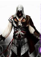 Wholesale assassins Creed assassins Creed II Ezio Black Flag Cosplay Auditore da Firenze Black Edition Cosplay Costume Custom