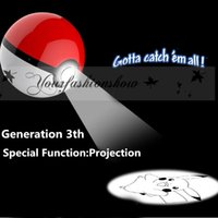 battery charger project - DHL Fedex Free Poke Ball Power Bank mah rd Generation Poke Go Cartoon Phone Charger External Battery With Led Light Project M232