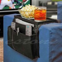 Wholesale 1 Sofa Couch Arm Pockets Rest Tidy Caddy Organizer Storage Case Bag Hot