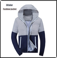Wholesale Spring summer thin trench coat prevented bask clothes for men women jackets windbreaker outdoor sports super light Quick drying