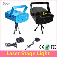 Wholesale Mini Laser Stage Light Holiday Sale mW Mini Green Red Laser DJ Party LED Laser Stage Lighting Disco Dance Floor Lights