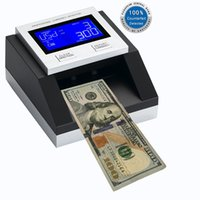 Wholesale 100 tested by European central bank EC350 note fake detector multi money detector new money detector for USD and Euro