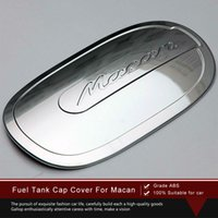 Wholesale High Quality ABS Chrome Plating Styling Fuel Tank Cap Cover Trim for Macan Car Styling Accessories