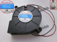Wholesale For SANLY SF5015SL Server Blower Cooling Fan DC V A x50x15mm wire pin humidifier fan