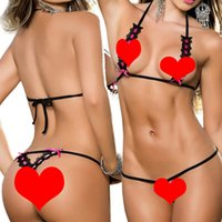 Wholesale Sexy lingerie hot sex product point type bikini lingerie sexy set color teddy sexy underwear erotic lingerie Binding babydoll Q01