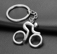 advertising bikes - Promotion Sales Metal Key Chains Bike Shaped Keychains Key Rings Outdoor Sports Club Show Advertising Gifts