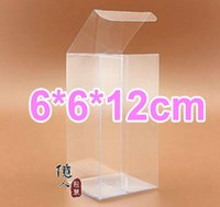 Wholesale 6 cm package box clear PVC gift boxes wedding favor custom logo products