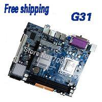 Wholesale buy direct from china motherboard computer part G31 ddr2 lga socket atx desktop motherboard