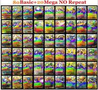 Wholesale Poke Card Poke TCG CARD RARE COM UNC HOLO GUARANTEED EX MEGA OR FULL ART