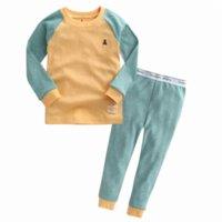 al por mayor bebé vaenait-Auténtica Vaenait niños del niño del bebé de las muchachas de la ropa gruesa pijama Set