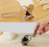 Wholesale Stainless Steel Dough Press Dumpling Pie Ravioli Mold Maker Cooking Pastry Tool