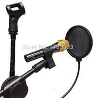 Wholesale DHL Fedex Studio Microphone Mic Pop Screen Wind Windscreen Filter Mask Shield Flexible NR01