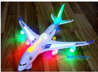 Wholesale 089 electric universal A380 airbus extra large belt lights simulation plane acoustic models A008