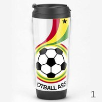 Wholesale 2016 European Cup and the various neighboring Ghana and France national team fans supplies souvenirs dedicated fan cup with lid ML