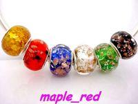 Cheap Handmade Lampwork Lampwork Glass beads Best Flowers White beads for jewelry making