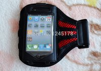 arm door - Out Door amp Sports Armband Cover For iphone5 S Soft Belt Material Waterproof Running Arm Band