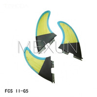 Wholesale 2015 High quality FCS II G5 fins with fiberglass honey comb material for surfing G5
