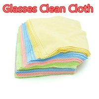 Wholesale Cleaning Cloth for LCD Screen Tablet Phone Computer Cloth Glasses Lens Eyeglasses Wipes Clean Cloth DHL Free Colorful Microfiber Glasses