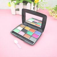 Wholesale 12 Color Eyeshadow Palette Makeup Tools AAA Quality Make Up Natural Long Lasting g Eye Shadow Tech Pigment Health Beauty Star