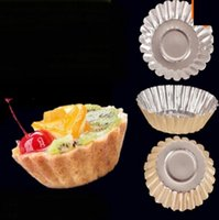 Wholesale Cake Decoration Daisy Cup Cake Mold Pudding Mold Egg Tart Mold Reusable durable non stick