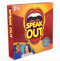 animal music games - Speak Out Game KTV party game cards for party Christmas gift newest best selling toy hot