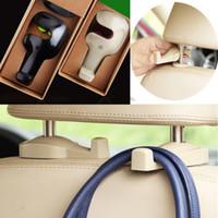 Wholesale Portable Car hook install convenient Vehicle Auto car accessories Seat Headrest bags hook hanger holder Free Fedex DHL