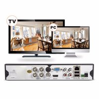 Wholesale SANNCE CH H HD CCTV System TVL Outdoor IR Security Camera Channels video Surveillance DVR kits for home protection