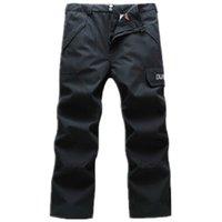 Wholesale Outdoor Ski pants men snowboarding pants Wind proof warm snow pants Climbing Skiing Windbreak Waterproof Hot Sale