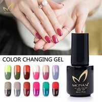 Wholesale 2016 Thermo Nail Polish New Product Vernis Semi Permanent Color Changing Nail Polish With Temperature Change Makeup Women