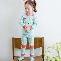 Wholesale Fashion Childrens Sleepwear Korean Girl Dress Baby Pajamas Kids Underwear Pajamas For Kids Children Clothes Child Clothing Ciao C28411