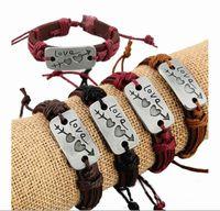 arrow belts - An Arrow Through A Heart Vintage Leather Bracelets Wrap Belt Bracelet Lover Gift Valentine s Day Gift