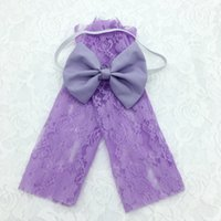 Wholesale 14 colors available elastic Baby lace leg sets of bow hair band Photography photo suit dress baby leg warmers hair bow hairband set