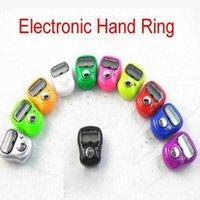 Wholesale Mini Digital Electronic Muslim Finger Ring Tally Counter Tasbeeh Tasbih Golf Temple DHL JF B3