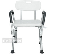 bath disabled - YC5206 With Armrest With Backrest Non slip Aluminum Alloy Bath Chair Stools For The Disabled Old People Pregnant Woman