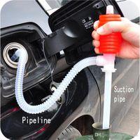 air suction pump - Portable Car Siphon Hose Gas Oil Water Liquid Transfer Hand Pump Sucker Air Pump Oil Transfer Pump Car Styling Oil Suction Pipe