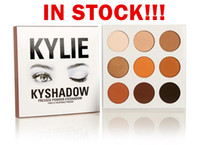 Wholesale drop ship in stock hot new kylie Kyshadow pressed powder eye shadow palette the Bronze Palette Kyshadow Kit Kylie Cosmetic colors