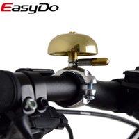 Wholesale Easydo Bicycle Copper Ordinary Bell Bike Handlebar Ring Mini Mountain Road Accessories Bisiklet Aksesuar Accesorios Bicicleta